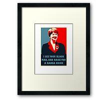 Prime Ministerial Propaganda Framed Print