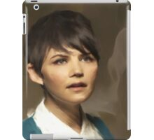 Snow from OUAT iPad Case/Skin