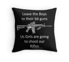 bb guns Throw Pillow