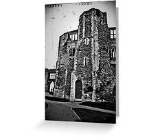 Newark Castle Grounds Greeting Card