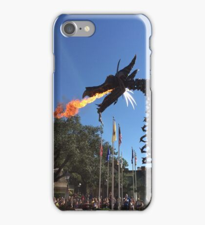 Festival of Fantasy Fire-Breathing Maleficent  iPhone Case/Skin