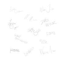 Original Trilogy Signatures (square) by flight1401