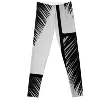 Feathery Frond Leggings