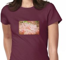 Cotton Candy Pink Azaleas Womens Fitted T-Shirt
