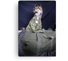 Army Tucker Canvas Print