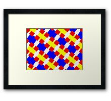 BLOCKS-2 Framed Print