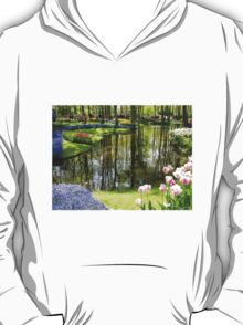 Tulip Reflections - Keukenhof Gardens, Holland T-Shirt