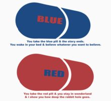 RED & BLUE PILL by bluebaby