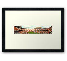 Neyland Stadium Panorama Framed Print