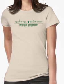 HUSH MONEY Womens Fitted T-Shirt