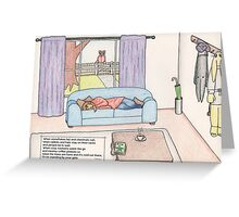 Alice's Winter Wonderland Greeting Card