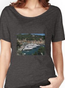 HARBOUR VIEW FROM A GREAT HEIGHT. Women's Relaxed Fit T-Shirt
