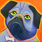 Pug by Sharon Geisen Hayes