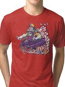 Wario Fink Tri-blend T-Shirt