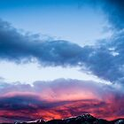 Fiery Clouds by Brent Olson