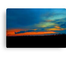 Wicked Sunset Canvas Print
