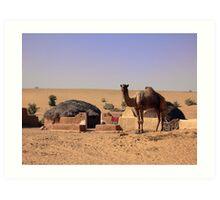 Desert Dwelllings: Jaisalmer Art Print