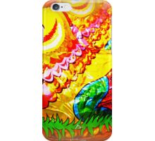 *Bright and colourful Easter Egg* iPhone Case/Skin