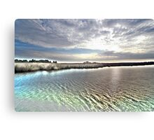 crystalized Canvas Print
