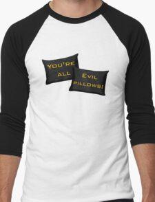 Evil Pillows! Men's Baseball ¾ T-Shirt