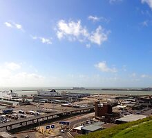 """UK: """"Dover Ferry Terminal 1"""", Kent by Kelly Sutherland"""