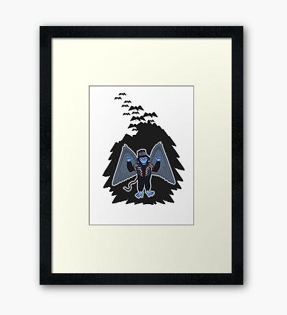 whatever happened to those cute flying monkeys? Framed Print