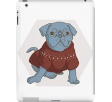 Pug the Best Friend iPad Case/Skin