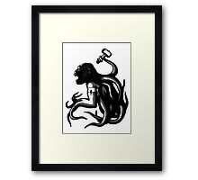 Shud, the last legionary of Simiacle Framed Print