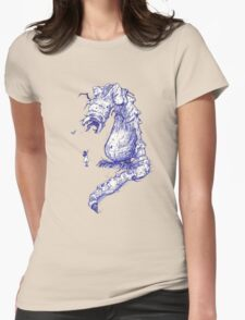 Beauty in the Eye of the Beholder Womens Fitted T-Shirt