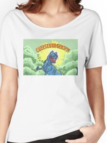 Cheese Burgers!? Women's Relaxed Fit T-Shirt