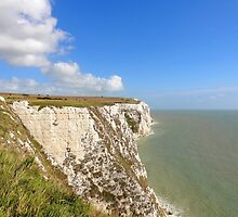 """UK: """"White Cliffs of Dover 1"""", Kent by Kelly Sutherland"""