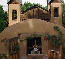 Santuario de Chimayo, Walled Gate by Mitchell Tillison