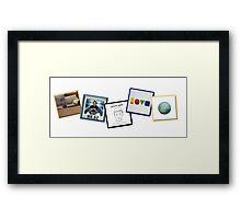 Jason Mraz Album Artwork Collage Framed Print