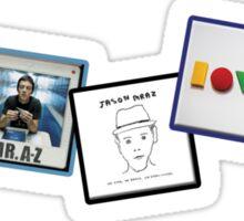 Jason Mraz Album Artwork Collage Sticker