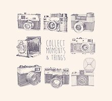 Vintage photo cameras by grop
