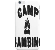 Camp iPhone Case/Skin
