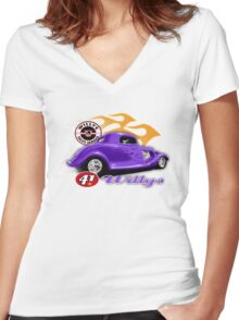 classic Women's Fitted V-Neck T-Shirt