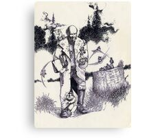 Wizard & the Lil' People Canvas Print