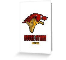 House Stark Greeting Card