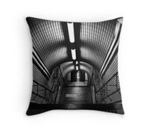 Picadilly Station - London, 2008 Throw Pillow