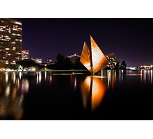 The Golden Sail Photographic Print