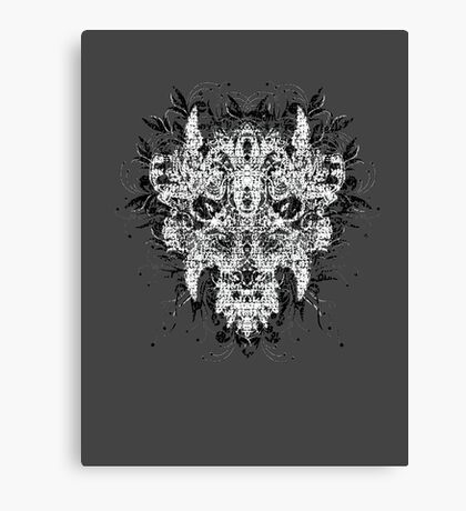 The Devil in the Details Canvas Print
