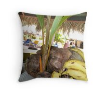Growing Baby Coconut Throw Pillow