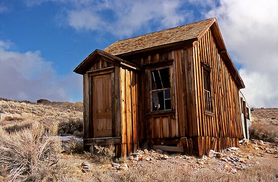 Residence - The ghost town of Bodie, California by Harry Snowden