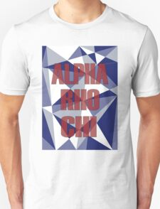Geometric Alpha Rho Chi T-Shirt