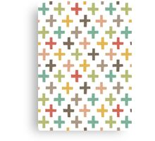 Hipster Crosses Canvas Print