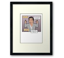 The Passion of the Mel Framed Print