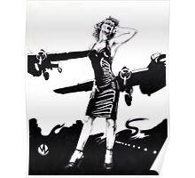 Marilyn Bomber Poster