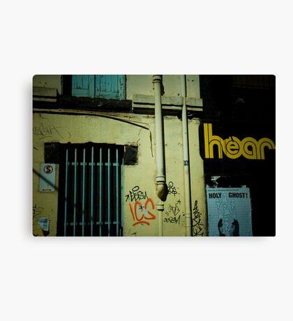 Hear  Canvas Print