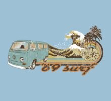 Volkswagen Kombi Tee shirt - 69 Surf by KombiNation